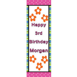 Funtastic Birthday Vertical Banner