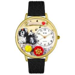 Shih-Tzu Watch with Miniatures