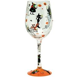 Giant Halloween Party Wine Glass