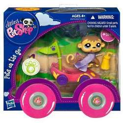 Littlest Pet Shop Pets on the Go Monkey