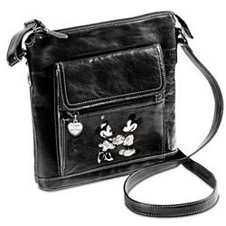 Retro Mickey and Minnie Crossbody Bag