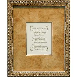 """I Have You In My Heart"" Framed Sympathy Poem"