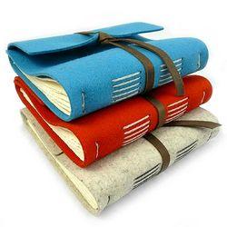 Handmade Wool Writing Journal