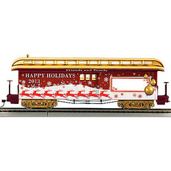 2013 Personalized Illuminated Holiday Train Car