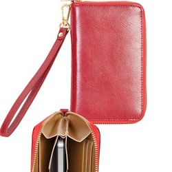 Women's Leather Clutch Wallet
