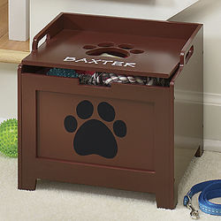 Paw Decor Personalized Storage Box