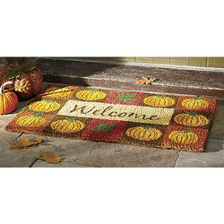 Pumpkin Patch Welcome Mat