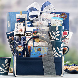 Take a Break Coffee and Snacks Gift Basket