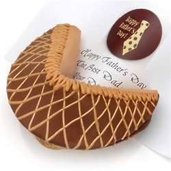 Milk Chocolate Peanut Butter Personalized Giant Fortune Cookie
