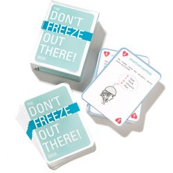 Don't Freeze Out There Playing Cards