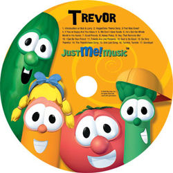 Personalized Sing-A-Long with Veggie Tales CD