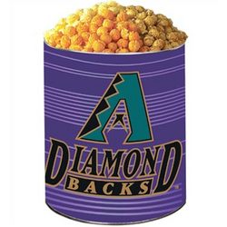 Arizona Diamondbacks 3-Way Popcorn Gift Tin