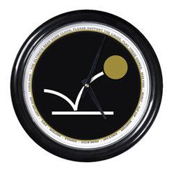 Beer Pong Round Clock