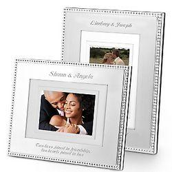 Silver Beaded Frame
