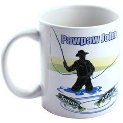Personalized Fishing Coffee Mug