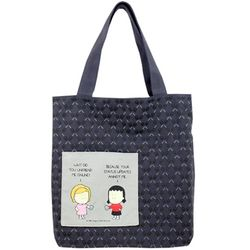 Status Updates Canvas Tote