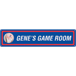 New York Yankees Personalized Room Sign