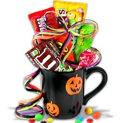 All Hallows Eve Halloween Candy Mug