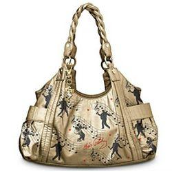 Elvis Presley Style is Golden Handbag