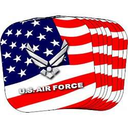 US Air Force Stars and Stripes Coasters