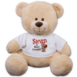 Personalized Beary Loveable Teddy Bear