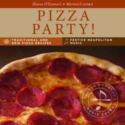 Pizza Party Recipe Cards and CD
