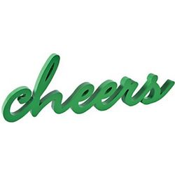 Wooden Cheers Sign