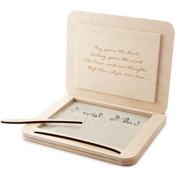 Handcrafted Meditation Writing Sandbox