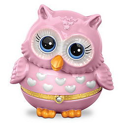 Owl-ways Keep Hope In Your Heart Breast Cancer Support Music Box