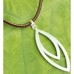 Men's Autonomous Sterling Silver Necklace