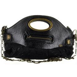 Black Nylon Handbag Purse