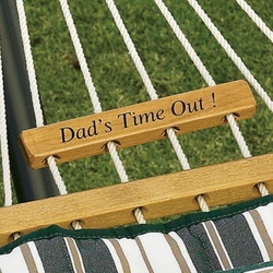 Personalized Hammock Plaque