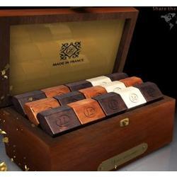Ruby Deluxe Mahogany Box of French Chocolates