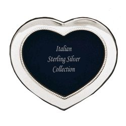 Sterling Silver Heart Frame