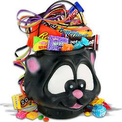 Cat's Meow Halloween Gift Basket