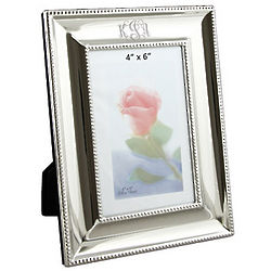 Personalized Silver Ornate Frame