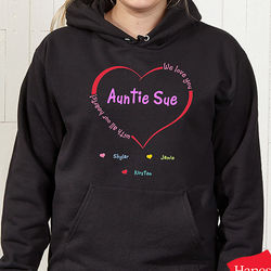 Personalized All Our Hearts Sweatshirt