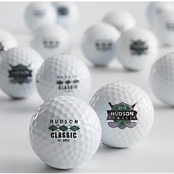 Personalized Top Flite XL Golf Balls