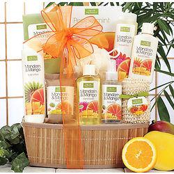 Mango & Mandarin Spa Basket
