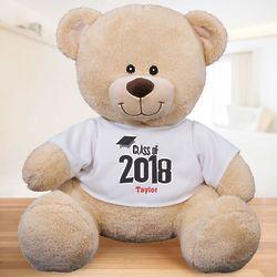 Personalized Class Of Graduation Teddy Bear