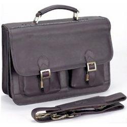 Navigator Leather Laptop Briefcase