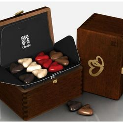 Romantic Diamond May Cause Love French Chocolates Gift Box