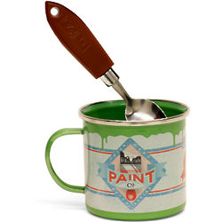 Paint Can Mug and Brush Spoon
