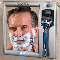 Fog-Free Shaving Shower Mirror