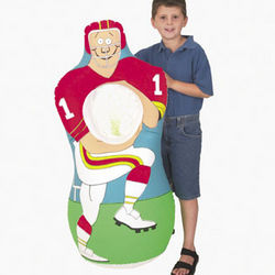Inflatable Football Player Catch Game