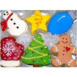 Tis The Season Holiday Cookies Gift Tin