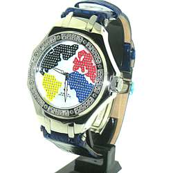 Aqua Master Chronograph Diamond Watch