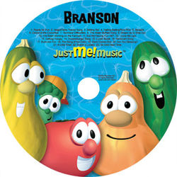 Personalized Veggie Tales CD Silly Songs & More