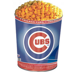 Chicago Cubs 3-Way Popcorn Gift Tin