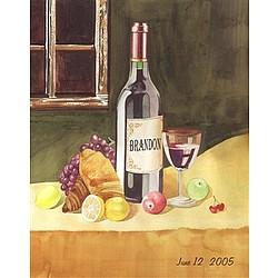 Wine Connoisseur Personalized Art